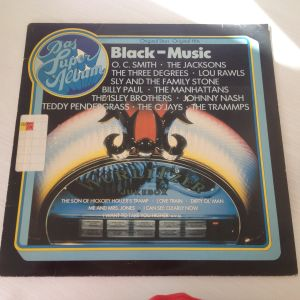"""Black Music Das Superalbum Wurlitzer Jukebox (33 RPM -Size: 12"""") Δίσκος Βινυλίου"""
