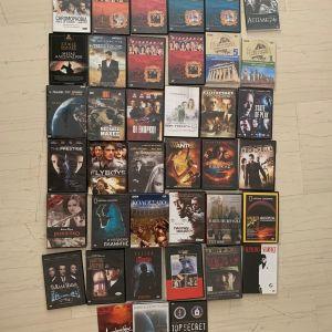 DVD - ΤΑΙΝΙΕΣ - 39 τεμάχια