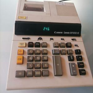 Αριθμομηχανη Vintage Canon Canola BP1210-D Calculator