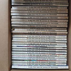 Μεγάλη συλλογή γαλλικού περιοδικού ηλεκτρονικών Le Haut Parleur