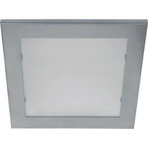 (9 τεμάχια) Φωτιστικό χωνευτό ψευδοροφής τετράγωνο 25x25cm