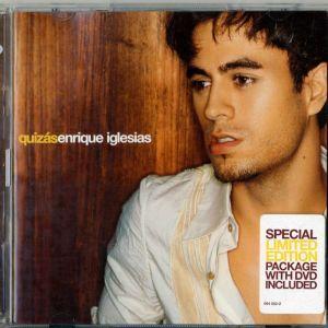 ENRIQUE IGLESIAS QUIZAS SPECIAL LIMITED EDITION CD + DVD