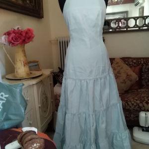 Ταφταφενιο φόρεμα THEOPHILI Νο 48 με το ταμπελακι επάνω