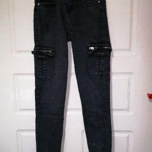 Μαύρο τζιν παντελόνι