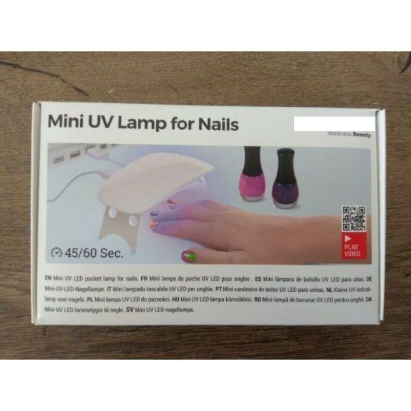 mini lampa nichion UV LED InnovaGoods