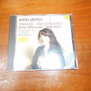 CD   MARTHA  ARGERICH   TCHAIKOVSKY - PIANO CONCERTO No.1