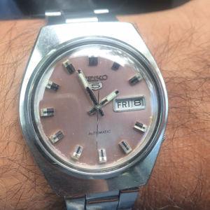 Vintage ρολόι χειρός Seiko 5