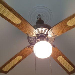 Ανεμιστήρας Οροφής με Φωτισμό