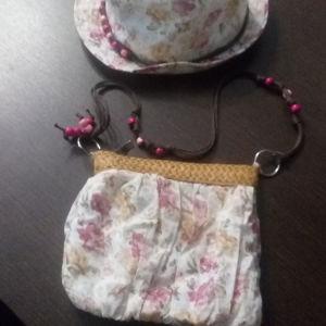 Τσάντα και καπέλο για κορίτσι