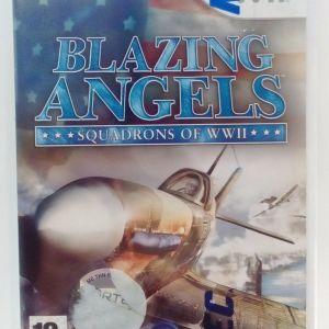 BLAZING ANGELS: SQUADRONS OF WWII NINTENDO Wii EUROPEAN PAL
