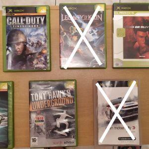 XBOX 6 παιχνίδια