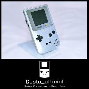 Game boy color (Silver) Gesto_official