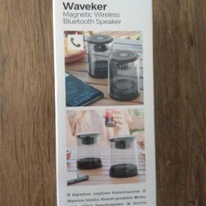 Μαγνητικά επαναφορτιζόμενα ασύρματα ηχεία Waveker InnovaGoods Πακέτο των 2 τεμ