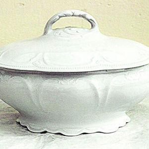 Βικτοριανη σουπιερα πορσελανης του1880