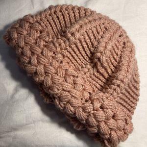 Handmade ροζ σκουφάκι