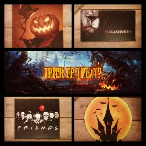 """""""Trick or Treat"""" All Hallows Magnets"""