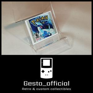 Pokemon Silver ανταλλακτικό αυτοκόλλητο για την κασέτα Gesto_official