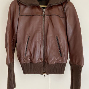 MAURO GRIFONI Leather jacket in excellent condition