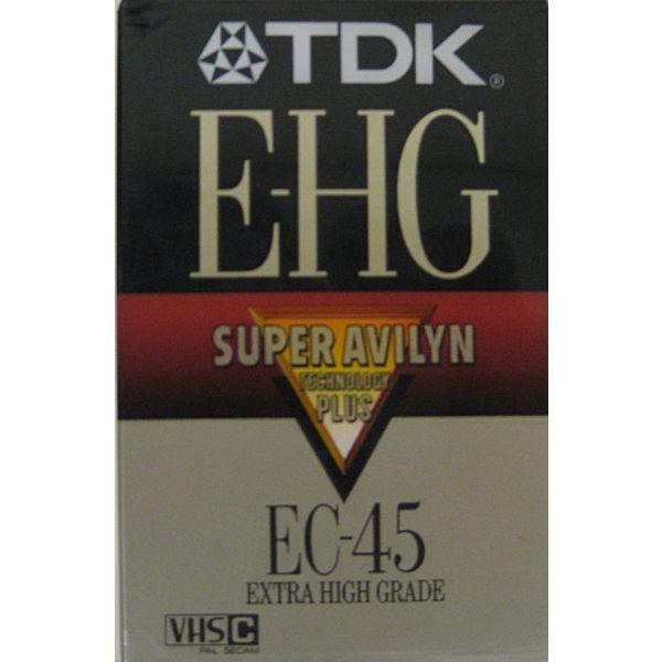 TDK VHC-C EC-45 EHG