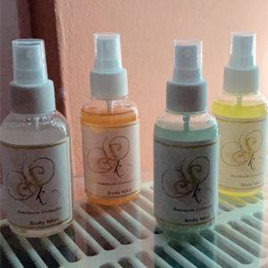 Body mist Χειροποίητο με φυτικά προϊόντα σε κάθε άρωμα της επιλογής σας!