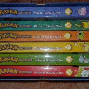 Pokemon Adventures Red&Blue Vol. 2-5