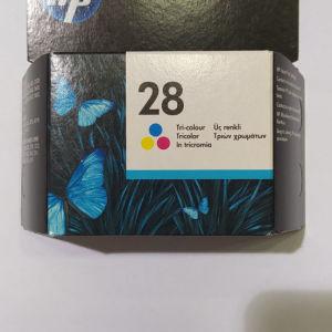 Μελάνι εκτυπωτή HP 28 tri color