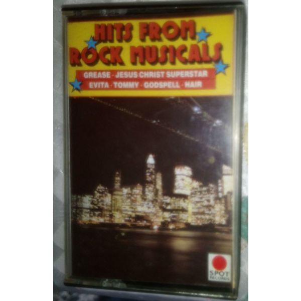 HITS FROM ROCKS MUSICALS-kasseta