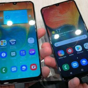 Samsung Galaxy A50 2019 Dual (128GB) Blue + θήκη