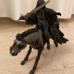Φιγούρα σκοτεινός ιππότης με άλογο