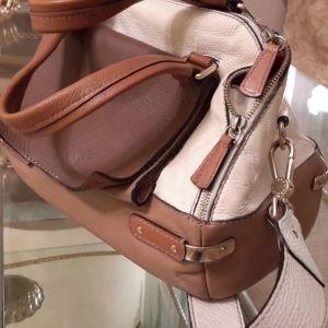 Δερμάτινη τσάντα  Furla αφθεντικη