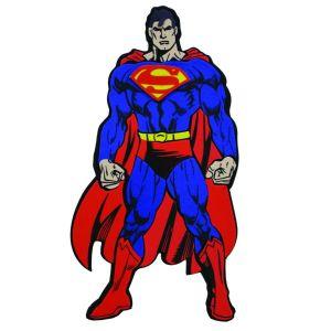Αγγελιες Σουπερμαν Superman αυτοκολλητο διακοσμητικο φιγουρα τοιχου 13X22 εκ. για παιδικο εφηβικο νεανικο δωματιο