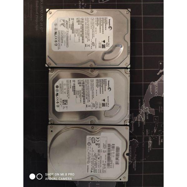 tris (3) diski sata 80gb  10€