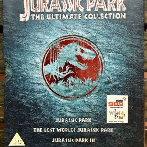 DvD  Jurassic Park Trilogy( Δωρεάν Μεταφορικά )