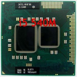 Intel Core I5-540M  Socket G1 CPU