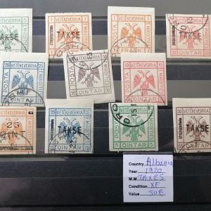Αλβανια γραμματοσημα 1920