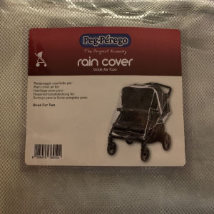 Peg Perego Rain Cover Book for Two