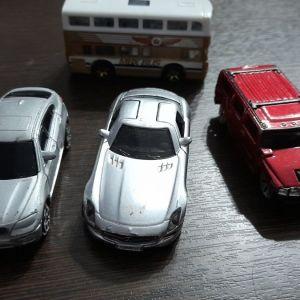 4 αυτοκινητακια