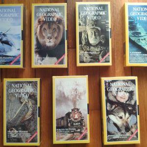 Βιντεοκασσέτες VHS National Geographic