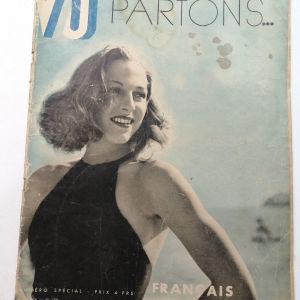 Γαλλικό περιοδικό PARTONS του 1935