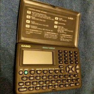 Casio digital diary calculator organizer retro