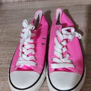 Αθλητικά παπούτσια νούμερο 38 ροζ-φούξια χρώμα