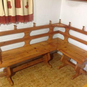 Πάγκος κάθισμα και τραπέζι
