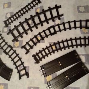 Ράγες τρένων