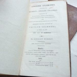 Lindley Murray English Exercises, Adapted to Murray's English Grammar ...