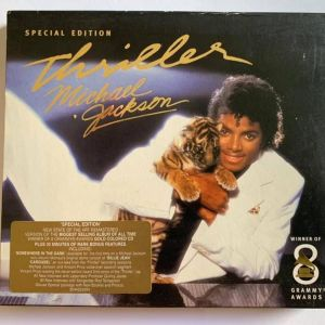 Michael Jackson - Remastered Special Editions of  Thriller - Bad - Dangerous ( LOT)