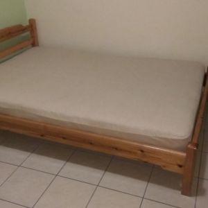 Κρεβάτια από μασίφ Σουηδικό πεύκο