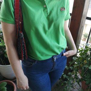 Πράσινο μπλουζάκι polo
