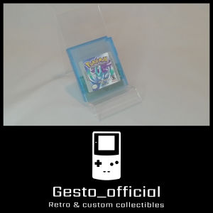 Pokemon Crystal Game Boy Color (Reproduction κασέτα) Gesto_official