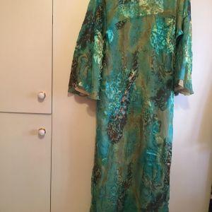 Φόρεμα ζακέτα 100%silk