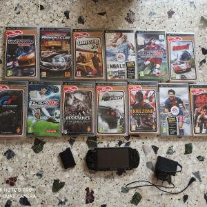 Sony psp +13 games